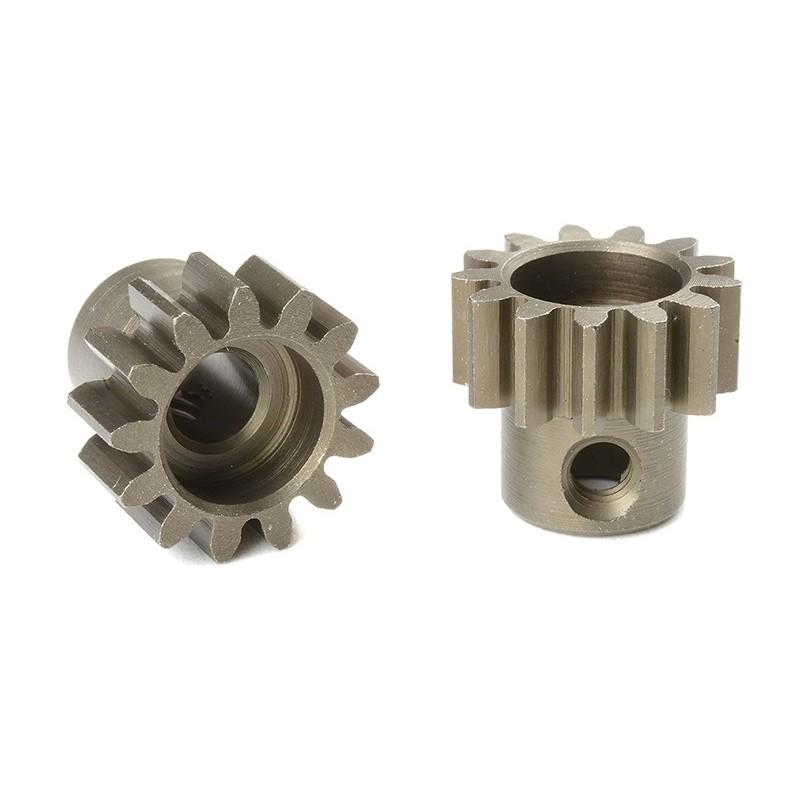 Pignone Modulo 1 in acciaio indurito - 13T - foro 5mm