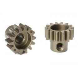 Pignone Modulo 1 in acciaio indurito - 14T - foro 5mm