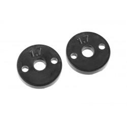 Pistoni ammortizzatori in plastica - 2 fori 1,7mm - (2)