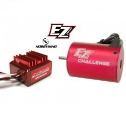 Sistema Combo Brushless ESC 45A + Motore Trofeo 21.5T