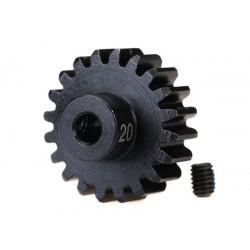 Pignone 20T modulo 32 - HD acciaio indurito foro 3,2 mm