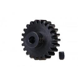 Pignone 22T modulo 32 - HD acciaio indurito foro 3,2 mm