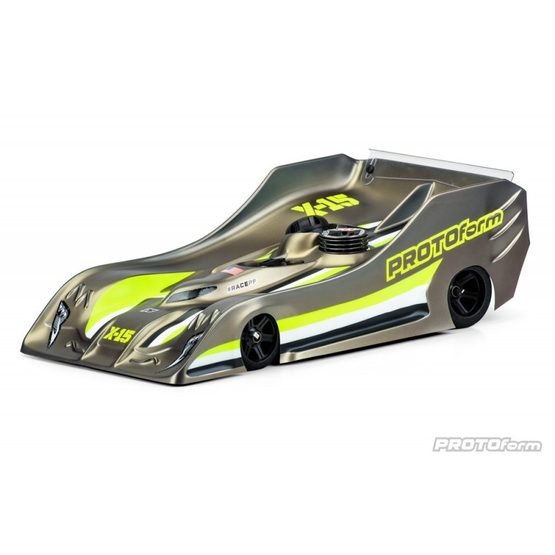 Protoform X-15 Pro-Lite 1:8 On-Road