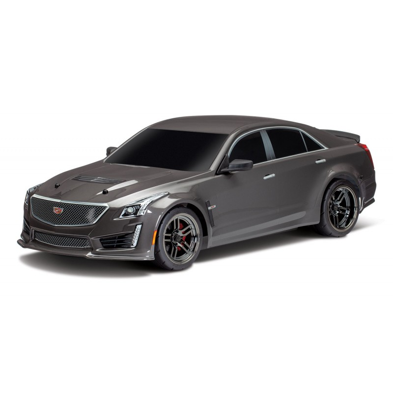 Cadillac CTS-V body 1:10 Silver painted