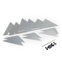Pannelli interni telaio UDR silver