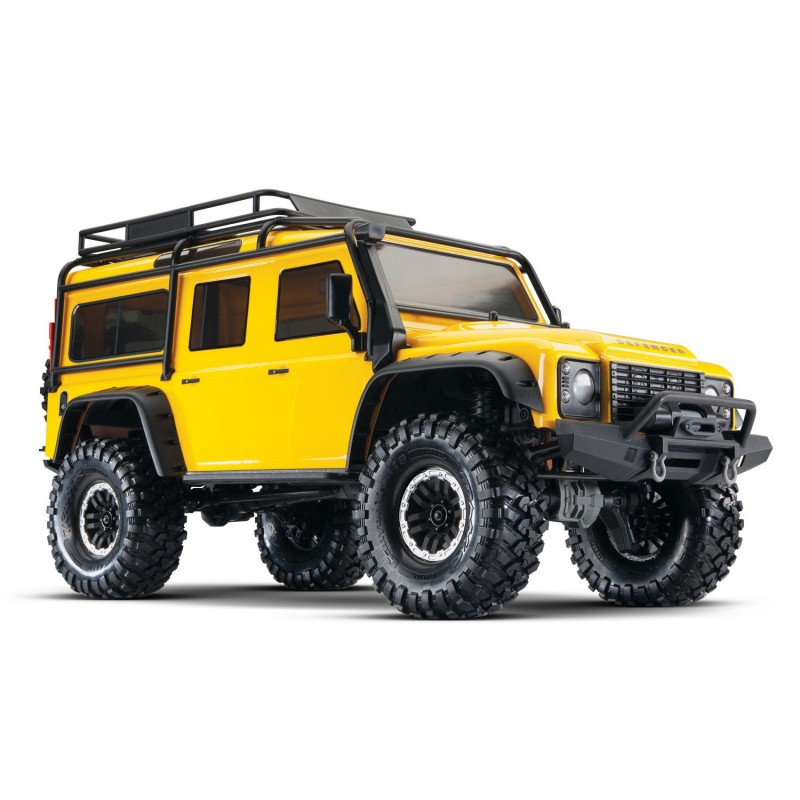 TRX-4 Land Rover Defender Yellow Special Edition Scale and Trail Crawler