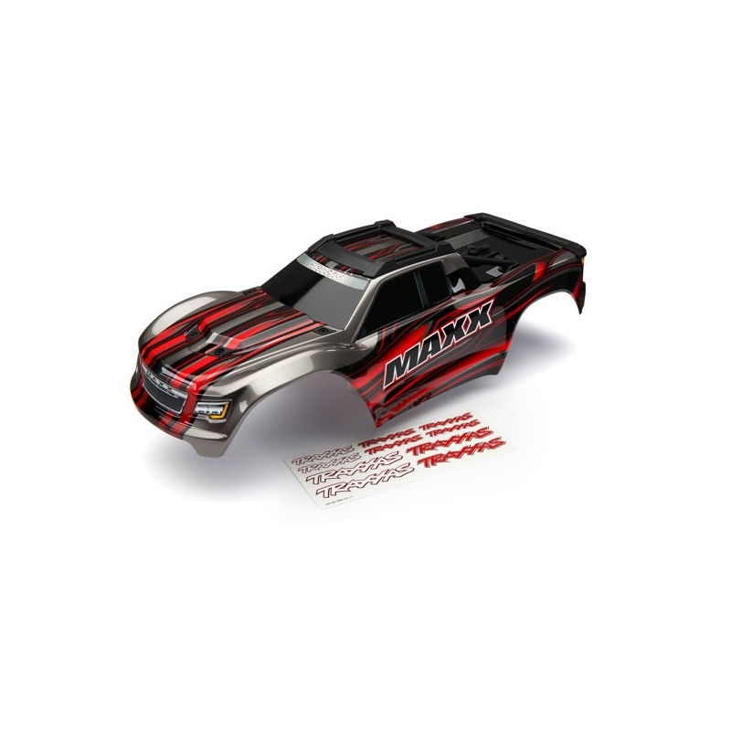 carrozzeria MAXX rossa con decals