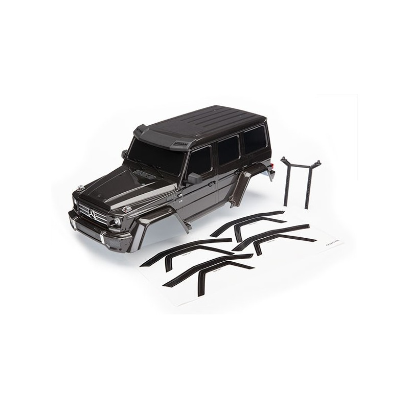 Mercedes G500 TRX-4 Painted Body Black complete with accessories
