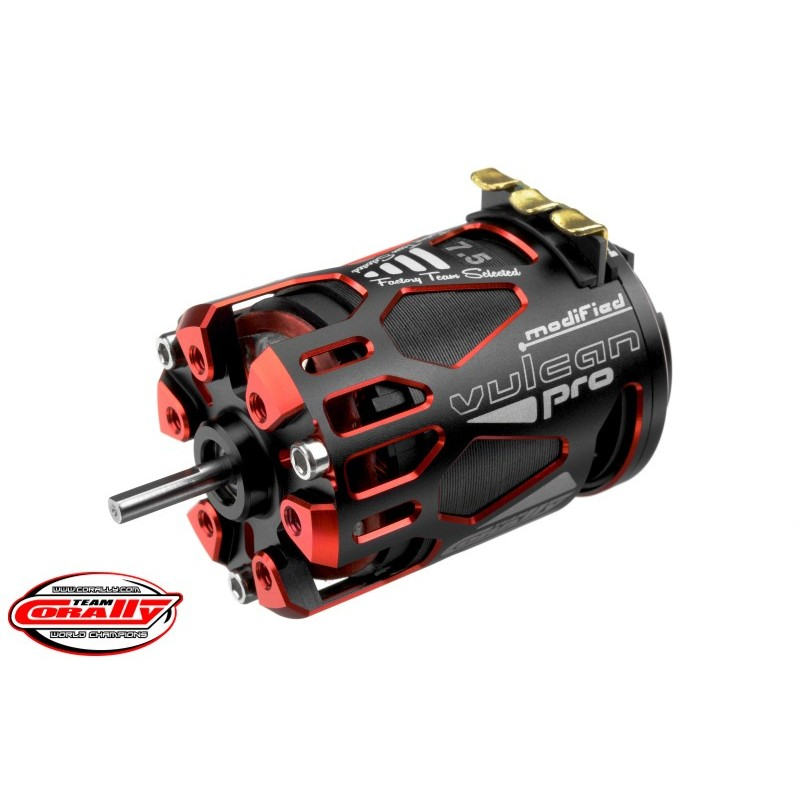 Competition Brushless Motor Vulcan Pro Modified - 7,5T - 4700KV