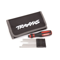 Traxxas 7-Piece Metric Hex Bit Master tools kit with carrying case