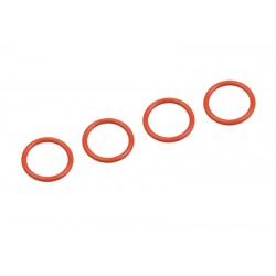 Slicone O-Ring - 10.5x1.5 - 4 pcs