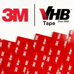 Biadhesive stripes 3M VHB™...