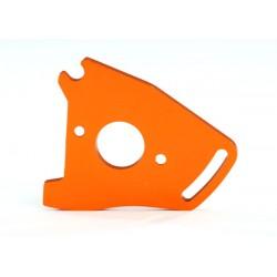 Plate, motor, orange