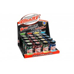 TEAM CORALLY TIRE ADDITIVES DISPLAY 16PCS