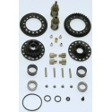 SGX GEAR DIFFERENTIAL INCL. 37T PULLEY- FOR TAMIYA