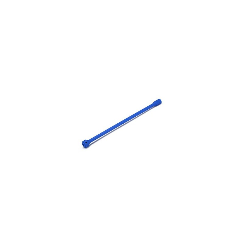 DRIVESHAFT, CENTER, PLASTIC (BLUE)/ SCREW PIN