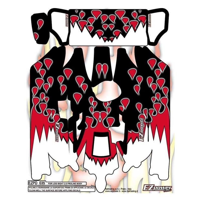 ADESIVO RED DROPS 8IGHT PL BODY
