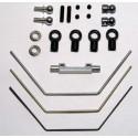 HMX Anti-roll Bar Kit, incl. 1.0 - 1.3 - 1.6 mm wi
