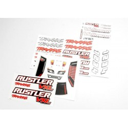 DECAL SET RUSTLER VXL
