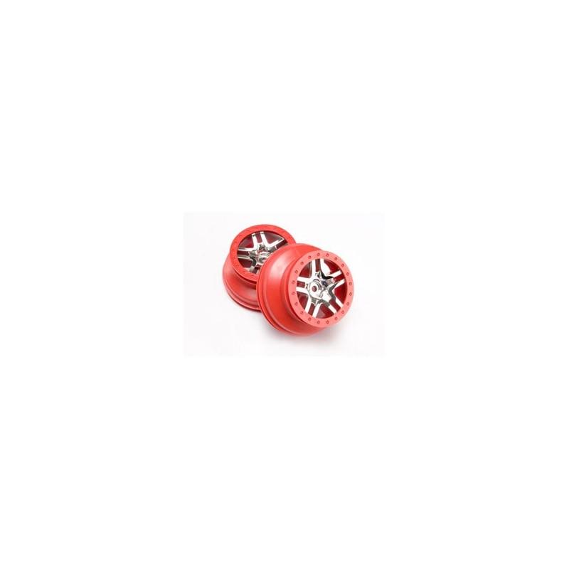 CERCHI SCT SPLIT SPOKE RED 4X4