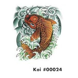 DECALS KOI HOOD