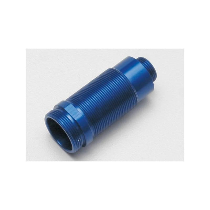 Body, GTR shock (aluminum, blue-anodized) (1)