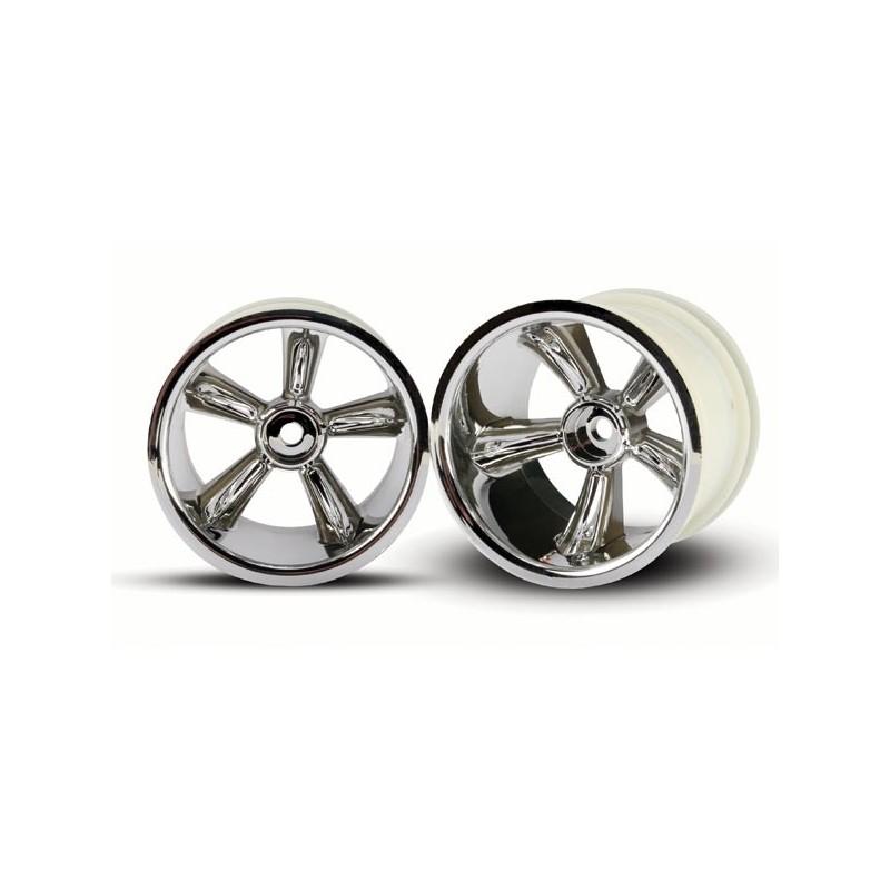 "TRX Pro-Star chrome wheels 2.2"" (2) (rear)"