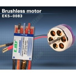 SISTEMA BRUSHLESS 1500KV-25A