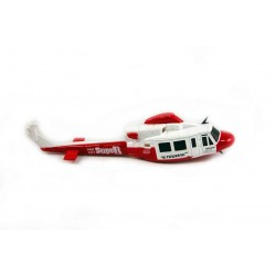 HUEY FUSELAGE EXECUTIVE RED