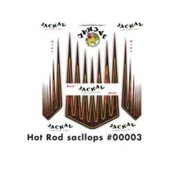 DECALS HOT ROD SCALLOPS KIT