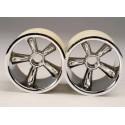 "TRX Pro-Star chrome wheels 2.2""(2) (front)"
