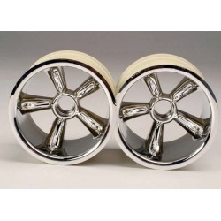 TRX Pro-Star chrome wheels...