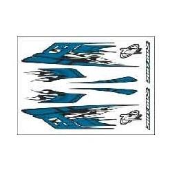 ADESIVI RAZOR BLUE