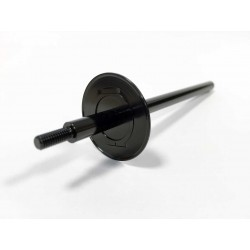 REAR AXLE ALUMINIUM BLACK -...