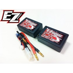 SADDLE PACK LIPO 4400 MAH 2S -40C- 7,4V