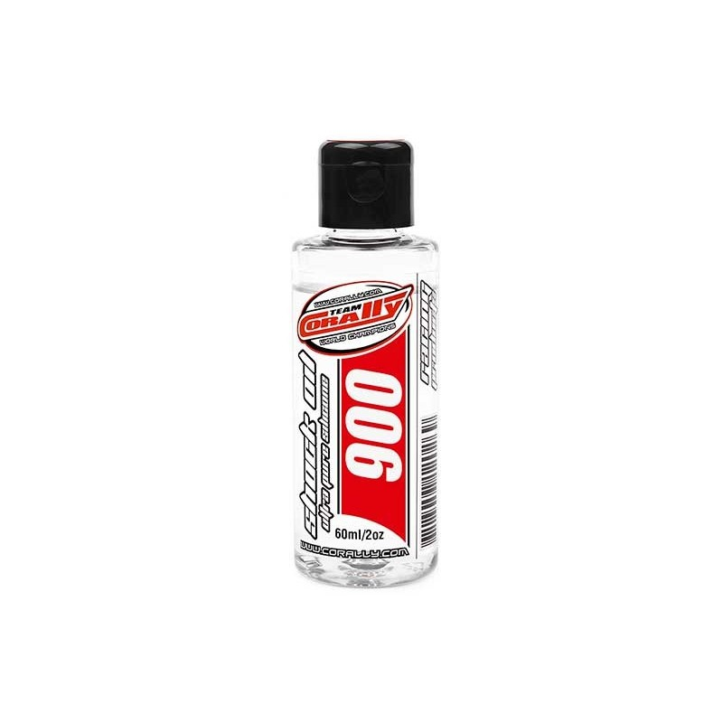 OLIO SILICONE TEAM CORALLY - 900 CPS 60ML