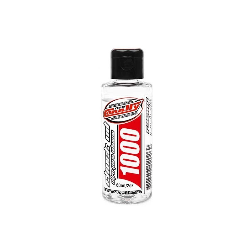 TEAM CORALLY SHOCK OIL - 1000 CPS - 60ML