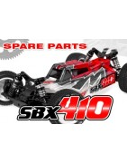 Corally SBX-410 Spare Parts